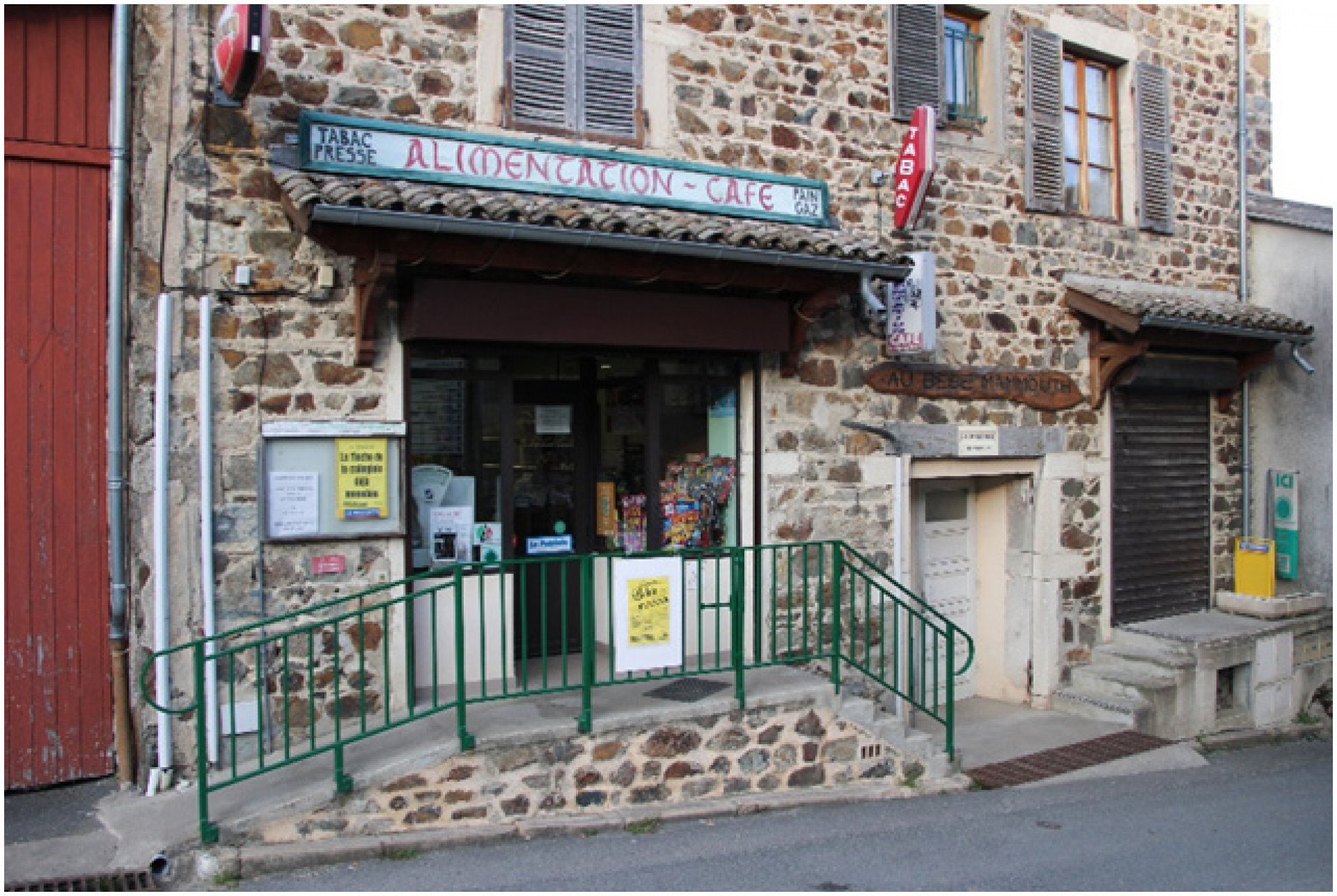 Bar Restaurant Epicerie en Beaujolais
